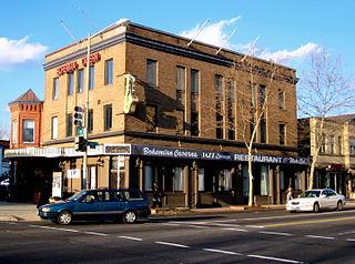Bohemian Caverns American restaurant and jazz nightclub