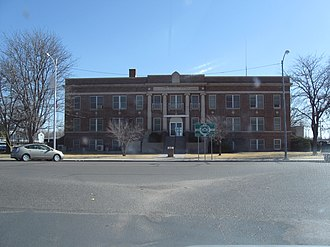 Boise City, Oklahoma - Cimarron County Courthouse (2009)