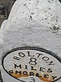 Bolton Milestone 8 with pivot - geograph.org.uk - 1774943.jpg