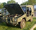 Bombardier Military Vehicle ('13 Auto classique Combos Express).JPG