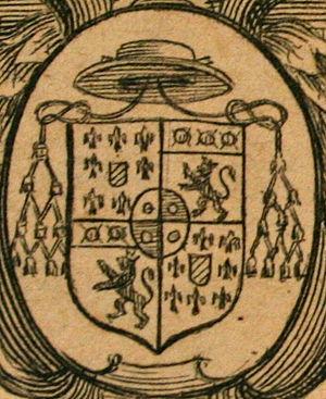 Giovanni Bona - Bona's coat of arms