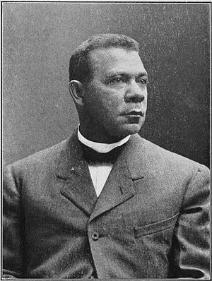 Booker T. Washington - Washington early in his career.