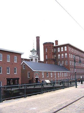 Boott Mills - The Boott Mills in 2006