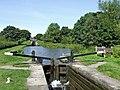 Bosley Locks 9 and 10, Macclesfield Canal, Cheshire - geograph.org.uk - 550317.jpg