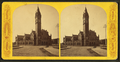 Boston and Providence R.R. Station, exterior, from Robert N. Dennis collection of stereoscopic views.png