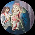Botticelli - madonna and child with an angel - bob jones university.jpg