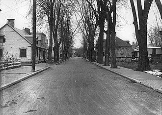 Gouin Boulevard - Image: Boulevard Gouin Montreal 1920