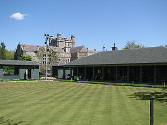 Westmount, Quebec - The Westmount Lawn bowling green.