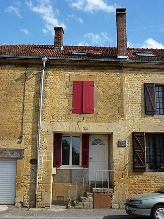 René Daumal - House in Boulzicourt, Ardennes, where Daumal was born