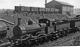 Midland Railway 700 Class - No. 22846 at Bournville Locomotive Depot 27 July 1947