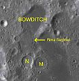 Bowditch sattelite craters map.jpg