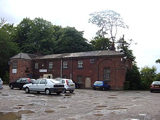 Bowring Park, Knowsley - Image: Bowring Park golf clubhouse geograph.org.uk 37192