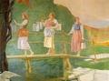 Bozzetto raffigurante Le portatrici di latte - Musei del cibo - Parmigiano - 212b.tif