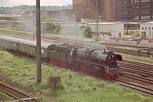 DR Class 23.10 - 35 1097-1 in Dresden in 1999