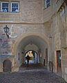 Brackenheim Schloss Tor von innen 1838WA.jpg