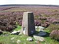 Bradfield Moors at Emlin trig point S4157 - geograph.org.uk - 1449824.jpg