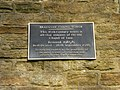 Bradshaw Chapel Tower, Plaque - geograph.org.uk - 1224007.jpg