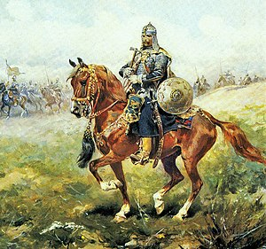 Polish cavalry - Polish-Lithuanian state, late 17th century Towarzysz pancerny