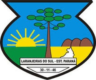 Laranjeiras do Sul - Image: Brasao de Laranjeiras do Sul