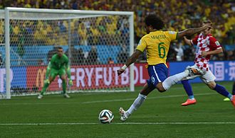 Sport in Brazil - Brazil at 2014 FIFA World Cup.