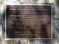 Bribie Island Bridge 50 Y Anniversary Plaque.JPG