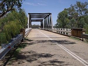 Collingullie - Bridge over Murrumbidgee River on Millwood to Collingullie road