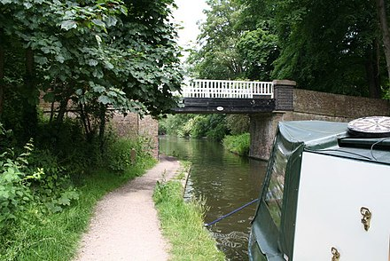 Bridge 168 on the Grand Union Canal