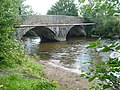 Bridge across the River Rhymney, Bedwas - geograph.org.uk - 1167060.jpg