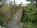 Bridge on Hadrian's Wall National Trail east of Wallhouses - geograph.org.uk - 1027222.jpg