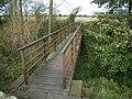 Bridge on Hadrian's Wall National Trail east of Wallhouses - geograph.org.uk - 1027222.jpg