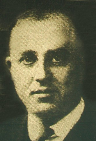 1922 Bridgman Convention - Berrien County Sheriff George Bridgman, leader of the August 22nd raid.