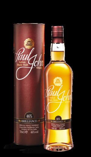 Indian whisky - Indian Single Malt Whisky from Paul John, John Distilleries
