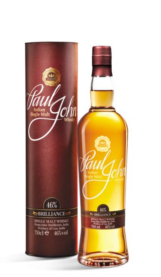 Indian whisky - Indian Single Malt Whisky from Paul John, John Distilleries