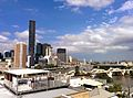 Brisbane River and skyline of Brisbane Australia.jpg