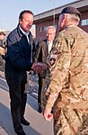 British prime minister makes surprise visit to Kabul, Afghanistan 141003-A-ZZ000-001.jpg