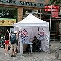 Brno, Masarykova, petiční místo Miloše Zemana (2351).jpg