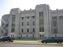 The trial was held at the Criminal Courts Building at Tulane & Broad in Mid-City New Orleans