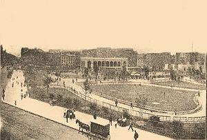 Seward Park (Manhattan) - Seward Park shortly after it opened in 1903.