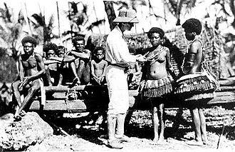 Ethnography - Bronisław Malinowski among Trobriand tribe
