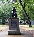 Bronze statue of John Cartwright in Cartwright Gardens - geograph.org.uk - 1397734.jpg