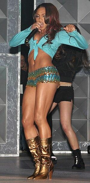 Brooke Valentine - Valentine performing in March 2005.