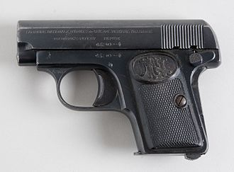 Pocket pistol - The 1929 FN Baby Browning