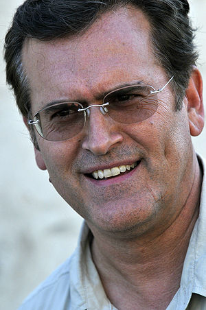 English: Bruce Campbell at a USO tour event ne...