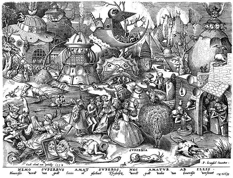 File:Brueghel - Sieben Laster - Superbia.jpg