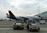 Brussels Brussels Airlines Airbus A319 OO-SSG 05.jpg