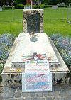 Monument till minne av Ungernrevolten som utbröt denna dag för 62 år sedan.