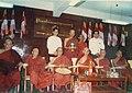 Buddha's Dhatu donated by The State Sangha Mahanayaka Committe.jpg