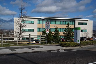 Goodman UK - Office building in Leeds Valley Park