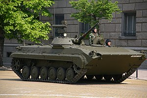 BMP-1 variants - Bulgarian BMP-1P during the Army Day military parade, 6 May 2009.