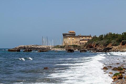 Beaches near Rome